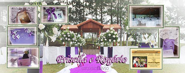 Álbum Rogério e Priscila